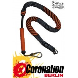 Wainman Kiteboard Leash Orange/Grau