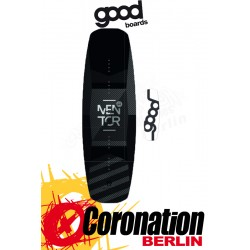 Goodboards MENTOR 2019 Good Wakeboard Carbon - High End, 3D Top