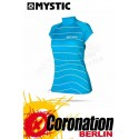 Mystic Star Rash Vest Women Capsleeve Mint Watershirt