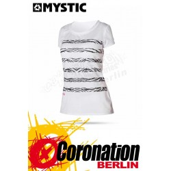 Mystic Zebra Quick Dry S/S Women White