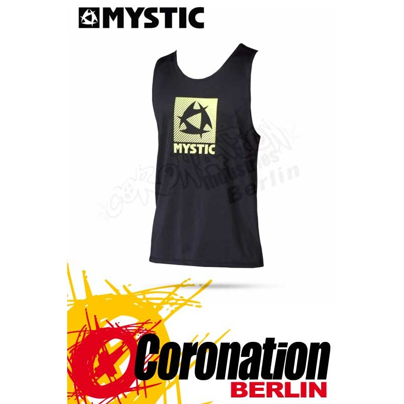 Mystic Star Quick Dry Loosefit Tanktop Black