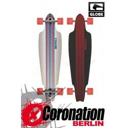 Globe Prowler Cruiser Longboard White/Blue/Red