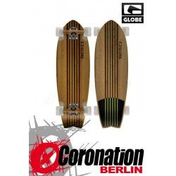 Globe Pin City Bamboo Natural Longboard Green