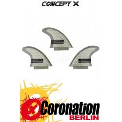 Concept X Wave Finnen Blade G10 Honeycomb Fins (FCS Base)