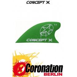 Concept-X CURVE HC 5,4cm Kite Fin green