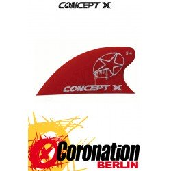 Concept-X CURVE HC 5,4cm Kite Fin red
