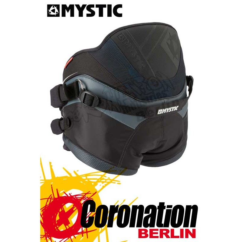 Mystic Force Shield Kite-harnais culotte Seat Harness Black
