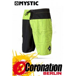 Mystic Flash Boardshort day glow green