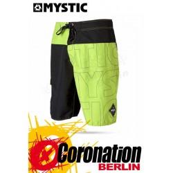 Mystic Flash Boardshort day glow green