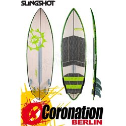 Slingshot Mixer 2018 High Performance Quad Carver Wave Kiteboard
