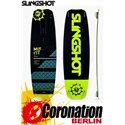 Slingshot MISFIT TEST  Kiteboard 132 + DUALLY pads et straps
