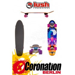 Lush Shralper Longboard Mini Cruiser