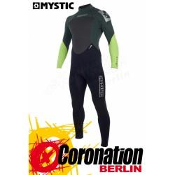 Mystic Star 2018 intégrale 4/3 Backzip combinaison neoprène