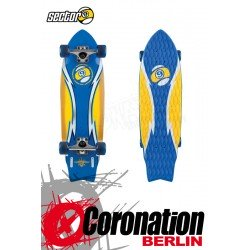Sector 9 Mini Bolt Quad Foamgrip blue