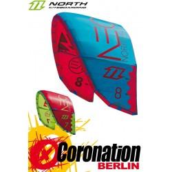 North Neo 2015 7m² Kite Gebraucht Türkis/Rot