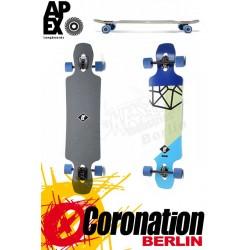 Apex Longboard Avenue MK2 Maple Neon Komplettboard