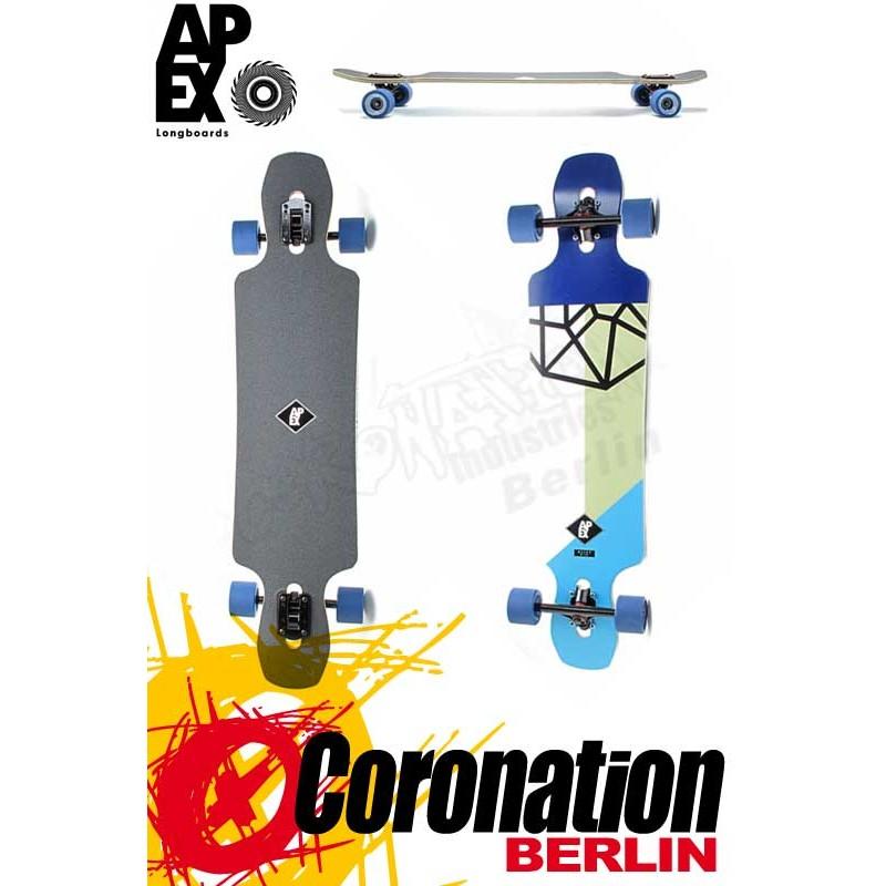 Apex Longboard Avenue MK2 Maple Neon complèteboard