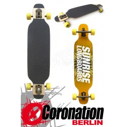 Sunrise Longboard Spring Edition 98cm Drop Thru Komplettboard