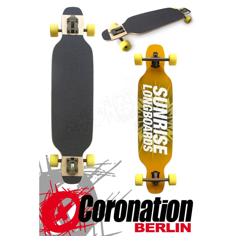 Sunrise Longboard Spring Edition 98cm Drop Thru complèteboard