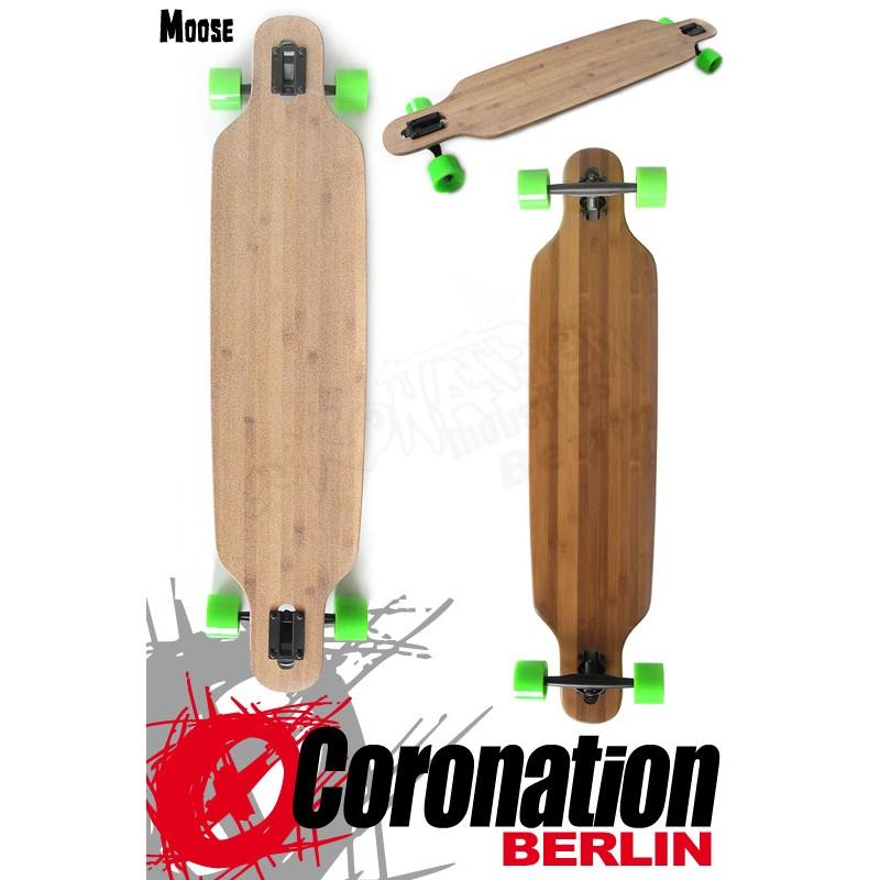 Moose Longboard Drop Thru Bamboo 107cm