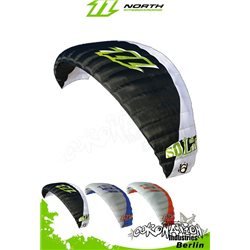 North Solid 6m² second hand kite with bar