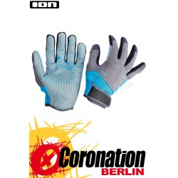 ION AMARA GLOVES FULL FINGER 2019 Neoprenhandschuhe hellblau/grau