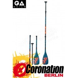GA Gaastra 100% CARBON 2019 adjustable SUP Paddle (3 teilig)