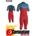ION Strike Overknee SS 3/2 neopren suit 2016 Petrol/Red