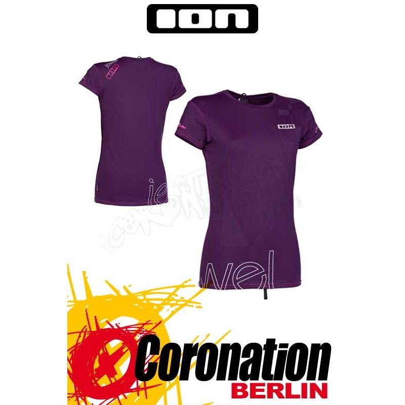 ION Rashguard Women SS Purple