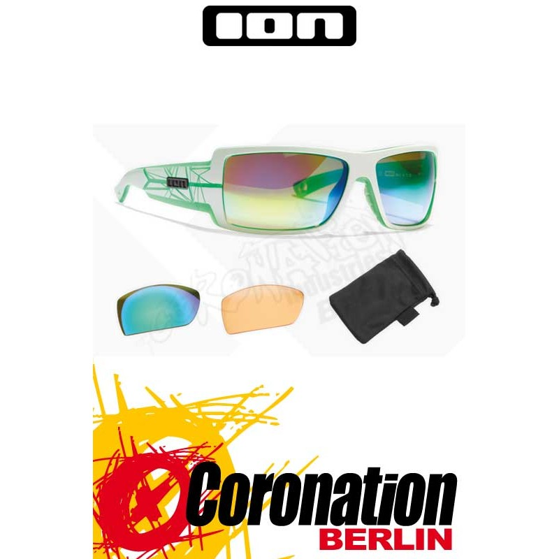 ION Sonnenbrille Vision Icon white/transvert - Zeiss Edition