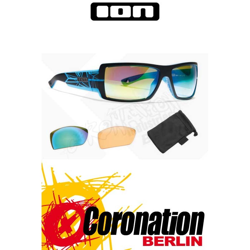 ION Sonnenbrille Vision Icon black/transblue - Zeiss Edition