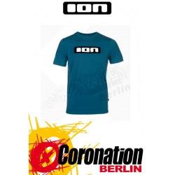 ION T-Shirt Tee SS Logo moroccan blue