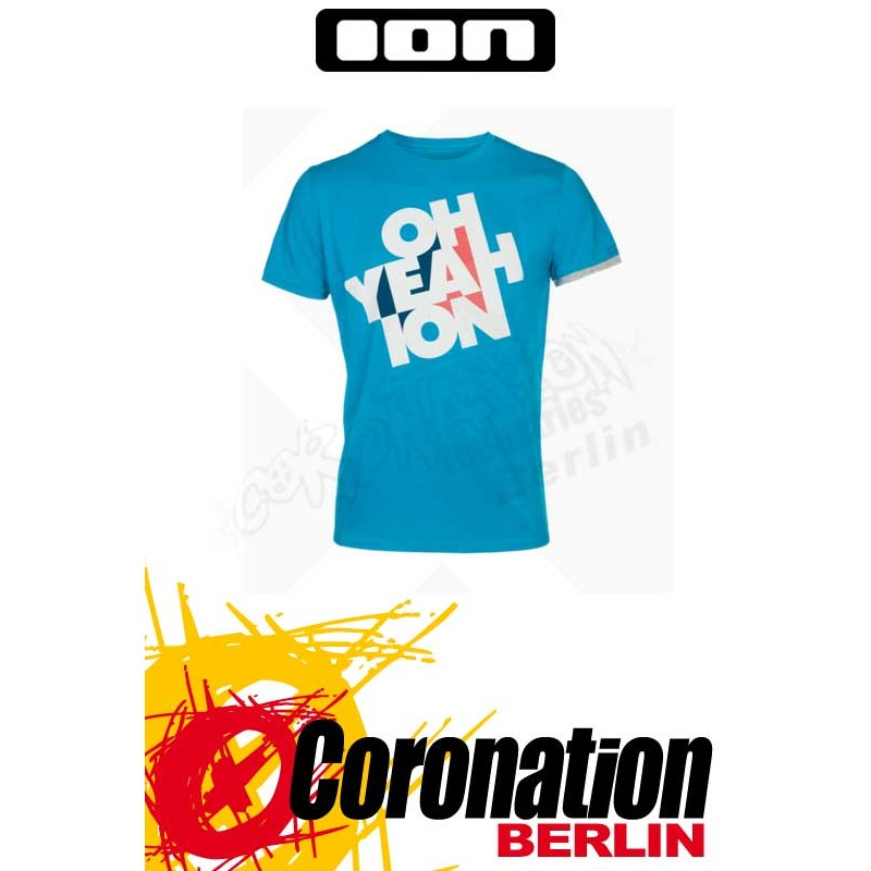 ION T-Shirt Tee SS Oh Yeah ION blue danube