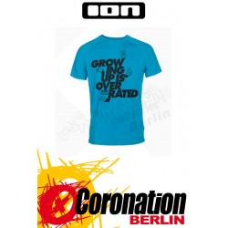 ION T-Shirt Tee SS Overrated blue danube