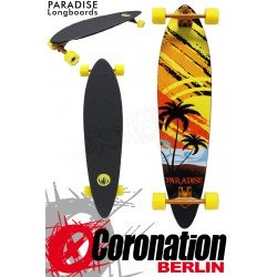 Paradise Longboard Sunset Sketch Pintail 95cm Cruiser