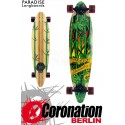Paradise Longboard Rasta Bamboo 3 Pintail 104cm Cruiser