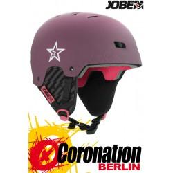 Jobe Base Wakeboard Helm - Water Helmet Bordeaux 2018
