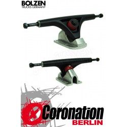 Bolzen truck 180mm Longboard-Truck - Black/Raw