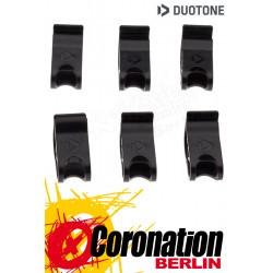 Duotone Ersatzteil Tube Clamps Lazy Pump System Max Flow 6pcs
