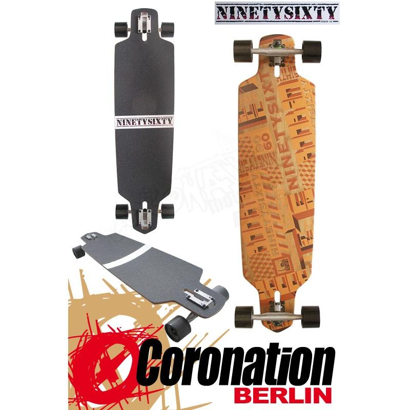 Ninetysixty BooBam Allround Longboard 100cm complète