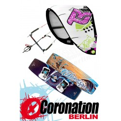 Kitesurf Set Takoon Reflex 12m² Kite +barre+ Brunotti Onyx Board