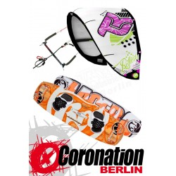 Kitesurf Set Takoon Reflex 12m² Kite +Bar+ RRD Placebo Kiteboard