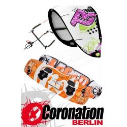 Kitesurf Set Takoon Reflex 12m² Kite +Bar+ RRD Placebo Kiteboard