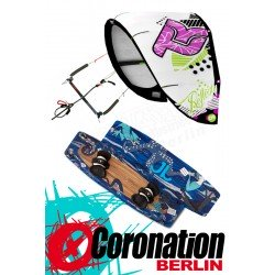 Kitesurf Set Takoon Reflex 12m² Kite +Bar+ JN Bouddok Kiteboard