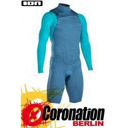 ION Onyx Core Shorty LS 2/2 FZ DL 2020 copen blue/aqua blue