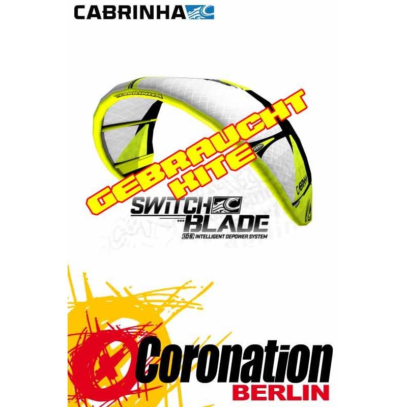 Cabrinha Switchblade 2012 occasion 11m² Kite avec barre