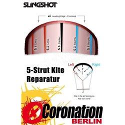 Slingshot Turbine 2018 strut bladder SET