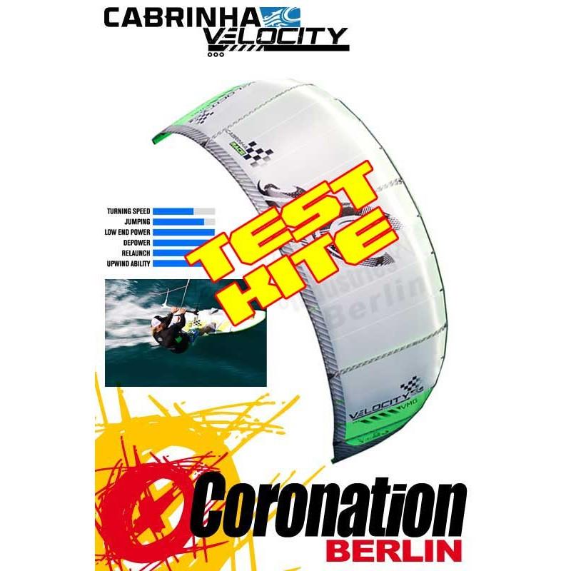 Cabrinha Velocity 2014 Race TEST Kite 18m²