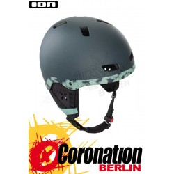 ION Hardcap 3.2 Comfort 2020 - Kite & Wake Helm carbon blue