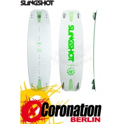 Slingshot MISFIT 2019 TEST Kiteboard 142 + pads and straps